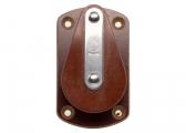 Bozzello orizzontale con piastra di montaggio / 10 mm / cuscinetto a scorrimento