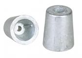 Anodo di zinco / accoppiamento conico
