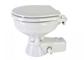 WC QUIET FLUSH compatto / azionamento ad acqua di mare
