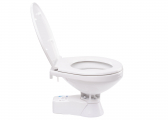 WC di bordo QUIET FLUSH / Comfort / Pompa per scarico acqua / Coperchio Soft-Close